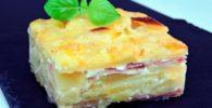 pastel queso manchego y bacon