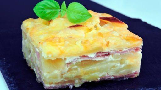 pastel queso manchego y bacon