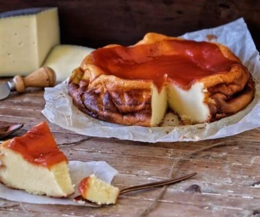 tarta queso manchego